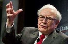 Warreno Buffetto įmonė pirmąjį ketvirtį patyrė 50 mlrd. JAV dolerių nuostolius