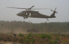 """Lietuviškuose """"Black Hawk"""" bus specialios įrangos, kurią naudoja JAV kariuomenė"""