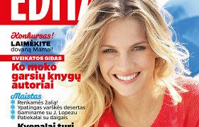 """Balandžio mėnesio """"Edita"""" – su priedu """"Mano sodas"""" ir naujomis rubrikomis"""