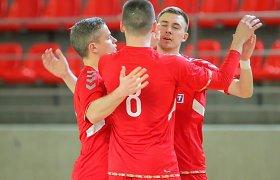 Lietuvos futsal čempionų laukia Čempionų lygos akistata Vokietijoje