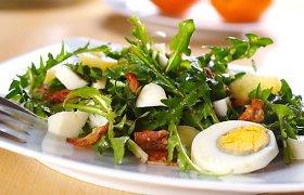 Pasiilgusiems pikantiškų žalėsių – patiekalai su rūgštynėmis, kiaulpienėmis ir meškiniu česnaku