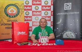 Lietuvos sportinio pokerio entuziastai susikibo dėl Dzūkijos etapo taurės