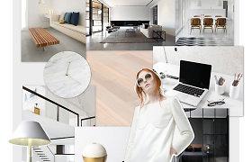Rafinuotame minimalizme viešpatauja grindys