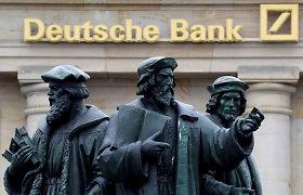 """""""Deutsche Bank"""" ir UBS svarstė galimybę sukurti investicinės bankininkystės aljansą"""