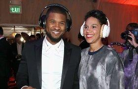 Dainininkas Usheris pasipiršo savo verslo partnerei Grace Miguel