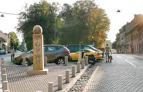 """Obelisko S.Gedai statybos Užupyje stringa: Rašytojų sąjungai sąlygos per sunkios, """"Vilniaus vandenys"""" siūlo ieškoti kitos vietos"""