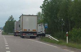 Valstybinė kelių transporto inspekcija rodo itin blogą pavyzdį