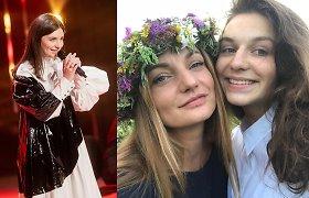 Garsios muzikos mokytojos dukra – nauja scenos žvaigždė: G.Pimpytė apie santykį su mama ir kritikus