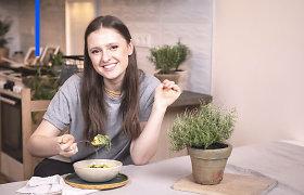 I.Zasimauskaitė tapo kulinarinės laidos vedėja: mokys, kaip lengvai pasigaminti vegetariškus patiekalus