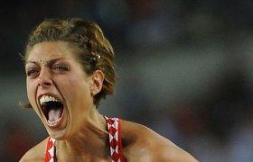 Lengvosios atletikos žvaigždė aukštyn nebekils: dėl traumų baigia karjerą