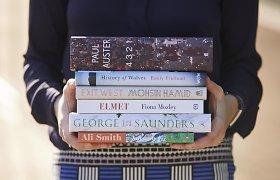 """Britų ir JAV rašytojai rungiasi dėl prestižinės """"Man Booker"""" premijos"""