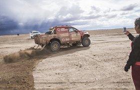 Atšauktas šeštasis Dakaro ralio etapas – lenktynininkai turės dvi dienas poilsio