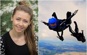 """Dukart pasaulio parašiutininkų čempionate dalyvavusi Lena: """"Vaikystėje turėjau pasirinkti – eiti su mama į daržą ar su tėčiu – į aerodromą"""""""