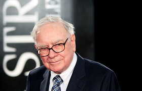 """W.Buffettas: """"Berkshire Hathaway"""" imperija yra 100 proc. pasirengusi mano išėjimui"""