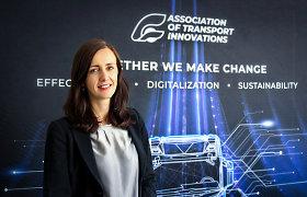 Transporto inovacijų asociacijai pradeda vadovauti R.Andziukevičiūtė-Buzė