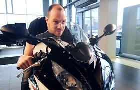 Su galingesniu motociklu į lenktynes grįžtantis Š.Pladas žada naują rekordą