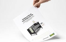 """Apšlapinti skirta """"Ikea"""" reklama gali sukelti tikrą medicinos revoliuciją"""