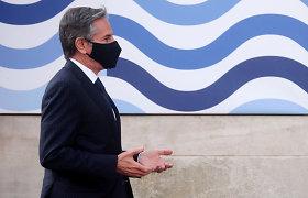 Japonijos ir Pietų Korėjos diplomatijos vadovai Londone susitiko su A.Blinkenu
