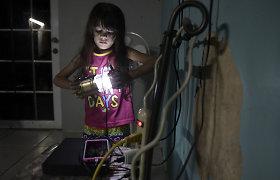 Puerto Riko mokykloje po 112 dienų atsirado elektra: pamatykite neįtikėtiną vaikų reakciją