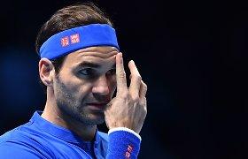Rogeris Federeris nukovė Keviną Andersoną ir prasibrovė į ATP pusfinalį