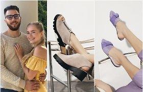 """Gintarė ir Benas Maslauskai pristatė batų kolekciją ir užsiminė apie būsimą projektą, kokio """"šioje Europos dalyje dar nėra"""""""