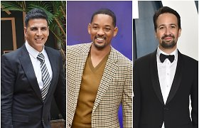 2020-ųjų daugiausiai uždirbančių aktorių TOP 10: jame – Holivudo, Bolivudo ir Brodvėjaus žvaigždės