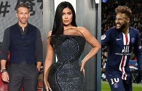 Tarp daugiausiai šiemet uždirbusių įžymybių – sportininkai, aktoriai, bet niekas neprilygo Kylie Jenner