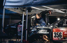 Technikų Dakaras: šiek tiek miego, daug atsakomybės ir noras patekti į 10-tuką