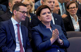 Ko ES gali tikėtis iš naujojo Lenkijos premjero M.Morawieckio?