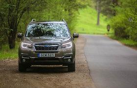 """""""Subaru"""" parduoda daugiausia keturiais ratais varomų automobilių"""