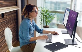 """Darbas iš namų niekur nedings: """"Dell Technologies"""" sprendimai, skirti didinti nuotolinio darbo efektyvumą"""