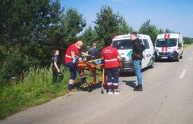 Vietoje ekskursijos po pamarį motociklu – savaitgalis ligoninėje