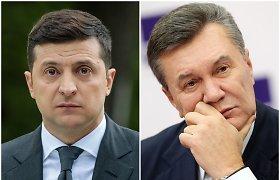 M.Laurinavičius: Už V.Zelenskio valdymo širmos – bent penki Rusijoje besislapstančio V.Janukovyčiaus veidai