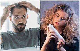 Trumpalaikės plaukų šaknų maskavimo priemonės – išeitis moterims ir su plaukų retėjimu susiduriantiems vyrams