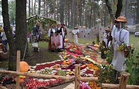 Varėnoje vyksta tradicinė Grybų šventė