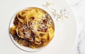 """Pasaulis lėkštėje: gardus ir aromatingas """"ragu alla bolognese"""""""