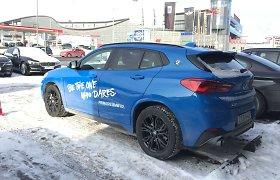 BMW šeimos naujokas X2 – lyg gražesnis X1 visureigio brolis dvynys