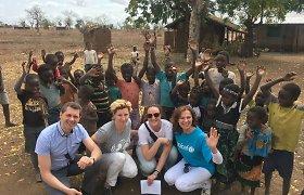 Virginijos Kochanskytės dienoraštis: ilga kelionė į Malavį ir diena, pilna vaikų juoko