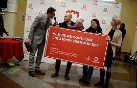 Šių metų milijoniniu Vilniaus turistu tapo estas gyvenantis Vokietijoje