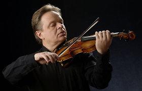 Smuikininkas Zbignevas Levickis: 15 metų drauge scenoje, tai labai daug