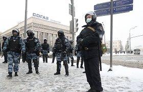 """""""The New York Times"""": Rusijos valdžia karantiną naudoja kaip priemonę užgniaužti opoziciją"""