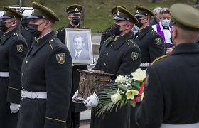 Seimo narys, signataras K.Glaveckas išlydėtas į paskutinę kelionę