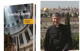 Arkivyskupo L.Virbalo žinios ir patirtis Šventojoje Žemėje nugulė kelionių vadove