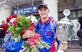 2013 metų įvykiai: daugiausia pergalių automobilių sporte šventę lietuviai