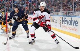 """""""New Jersey Devils"""" ledo ritulio klubas ateinančio sezono nesieja su Dainiumi Zubrumi"""