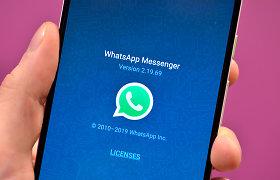 """ES vėl pamėgins nustatyti griežtesnį """"WhatsApp"""" ir """"Skype"""" reguliavimą"""