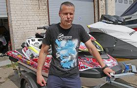 Kaunietis grįžo į vandens motociklų lenktynes po kraupios avarijos