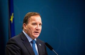 Švedijos premjeras izoliuojasi po galimo kontakto su virusu