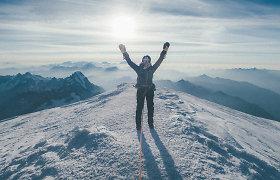 Nuo Lietuvos Aukštojo iki Monblano: per metus – ant visų 49 Europos viršūnių