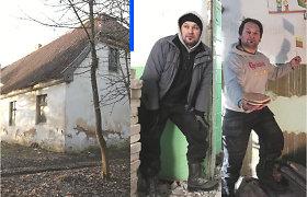 Šimtametę mokyklą kaime įsigijęs Eugenijus bando ją paversti savo namais: gyvena be šildymo, virtuvės